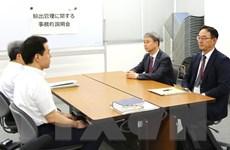 Nhật Bản và Hàn Quốc leo thang căng thẳng sau đàm phán thương mại