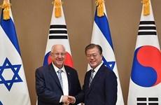 Israel và Hàn Quốc ký nhiều thỏa thuận hợp tác song phương