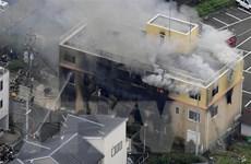 [Video] Cháy xưởng phim ở Nhật Bản là vụ giết người hàng loạt