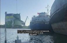 Nga cảnh báo Ukraine về hậu quả của việc bắt giữ tàu chở dầu Neyma