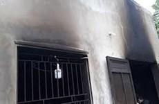 TP.HCM: Cháy phòng trọ, hai bé trai bị nhốt bên trong tử vong