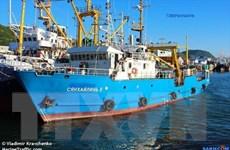 Triều Tiên phóng thích tàu đánh cá Xiang Hai Lin 8 của Nga