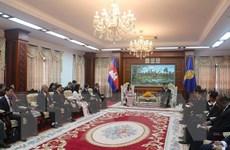 Campuchia đánh giá cao sự phát triển của TP Hồ Chí Minh trong ASEAN