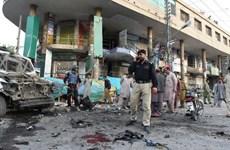 Pakistan: Nổ bom gần đồn cảnh sát khiến hơn 30 người thương vong