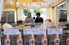 Gian hàng Việt Nam nổi bật tại Lễ hội bia quốc tế Berlin