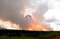 Nổ kho đạn tại Nga: 9 người thương vong, hàng nghìn người đi sơ tán