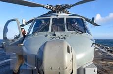 Mỹ duyệt thương vụ bán 12 máy bay trực thăng MH-60R cho Hàn Quốc