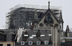 Bắt đầu tiến hành xử lý ô nhiễm chì vụ cháy Nhà thờ Đức Bà Paris
