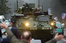 Mỹ chuẩn bị giao 60 xe bọc thép tiên tiến Stryker cho Thái Lan