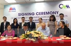 Hợp tác xuất khẩu nông sản Việt sang thị trường Singapore