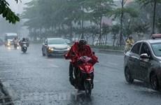 Các tỉnh Bắc Bộ, Bắc Trung Bộ mưa to từ đêm 29/8 đến ngày 2/9