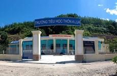 Thêm một trường học cho trẻ em dân tộc thiểu số C'tu ở Quảng Nam