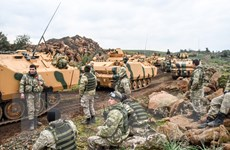 Thổ Nhĩ Kỳ và Mỹ sẽ tuần tra chung trên bộ tại Đông Bắc Syria