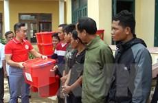 Hội Chữ thập đỏ Việt Nam hỗ trợ người dân Quảng Trị sau thiên tai