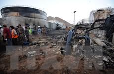 Phiến quân Houthi thừa nhận tấn công cơ sở dầu khí của Saudi Arabia