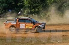 Kết thúc Giải đua xe ôtô địa hình lớn nhất Việt Nam