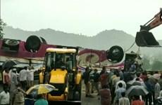 21 người thiệt mạng trong vụ lật xe buýt nghiêm trọng tại Ấn Độ