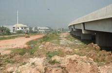 Cao tốc Bến Lức-Long Thành chậm tiến độ nửa năm vì thiếu mặt bằng sạch