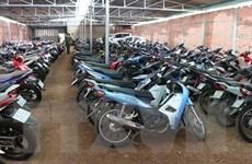 Bình Phước phát hiện hàng trăm xe máy cầm cố không chính chủ