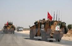 Thổ Nhĩ Kỳ-Mỹ tuần tra chung trên bộ lần thứ 3 tại ở Syria
