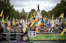 Pháp, Đức kêu gọi Thổ Nhĩ Kỳ chấm dứt tấn công người Kurd ở Syria