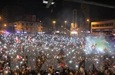 Thủ tướng Liban ủng hộ kêu gọi bầu cử sớm của người biểu tình