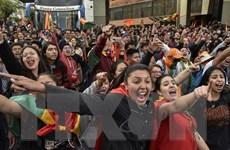 Phe đối lập Bolivia kêu gọi đình công phản đối kết quả bầu cử