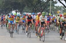 Trao giải chặng 2 cuộc đua xe đạp Nam Kỳ Khởi nghĩa ở Phnom Penh