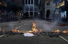 Cảnh sát Hong Kong bắt giữ hơn 200 đối tượng biểu tình bạo loạn