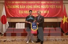 Giải bóng bàn đầu tiên của cộng đồng người Việt tại Nhật Bản
