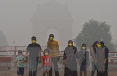 Ấn Độ: Cuộc sống người dân New Delhi đảo lộn vì khói mù nghiêm trọng