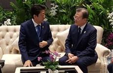 Lãnh đạo Nhật Bản-Hàn Quốc đối thoại trực tiếp tại Thái Lan