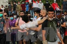 Lực lượng an ninh Iraq nổ súng giải tán biểu tình ở thủ đô Baghdad