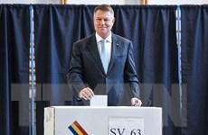 Bầu cử Romania: Tổng thống Iohannis dẫn đầu sau vòng 1