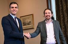Tây Ban Nha: Đảng PSOE và đảng Unidas Podemos lập chính phủ liên minh