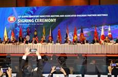 ASEAN và Nhật Bản thúc đẩy hợp tác về giao thông vận tải