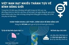 [Infographics] Việt Nam đạt nhiều thành tựu về bình đẳng giới