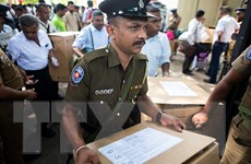 Sri Lanka bắt đầu bầu cử tổng thống, 85.000 cảnh sát bảo vệ an ninh