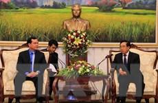 Việt Nam và Lào tăng cường hợp tác trong công tác công đoàn