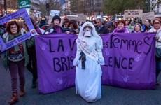 Tuần hành phản đối tình trạng bạo hành gia đình tại Pháp
