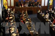Quốc hội lưỡng viện Bolivia thông qua dự luật tổ chức bầu cử mới