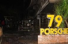 Đắk Lắk: Quán bar bốc cháy lúc nửa đêm, hàng chục khách tháo chạy