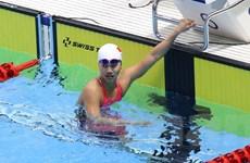 SEA Games 30: Ánh Viên ''hụt vàng'' ở nội dung 50m bơi ngửa