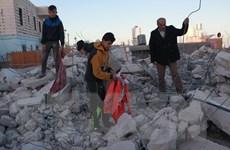 Israel phá nhiều ngôi nhà của người Palestine ở thành phố Hebron