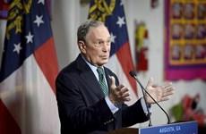 Hội nghị COP 25: Tỷ phú Bloomberg sẽ công bố những cam kết của Mỹ