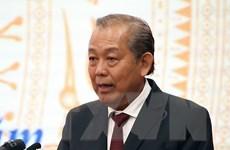 Phó Thủ tướng Chính phủ Trương Hòa Bình thăm Vương quốc Campuchia
