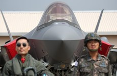 Hàn Quốc chính thức triển khai máy bay chiến đấu tàng hình F-35A