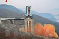 Mỹ: Triều Tiên tiếp tục có hoạt động tại bãi thử vệ tinh Sohae
