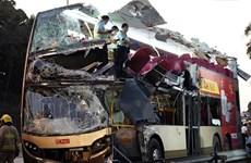 Tai nạn xe buýt nghiêm trọng tại Hong Kong, ít nhất 5 người chết