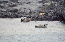 New Zealand giảm quy mô tìm kiếm 2 nạn nhân vụ núi lửa phun trào
